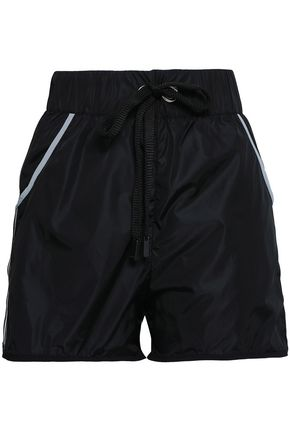NO KA 'OI Grosgrain-trimmed shell shorts
