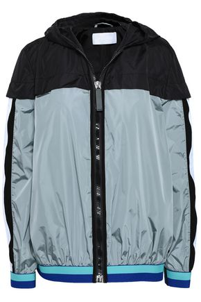 NO KA 'OI Shell hooded track jacket