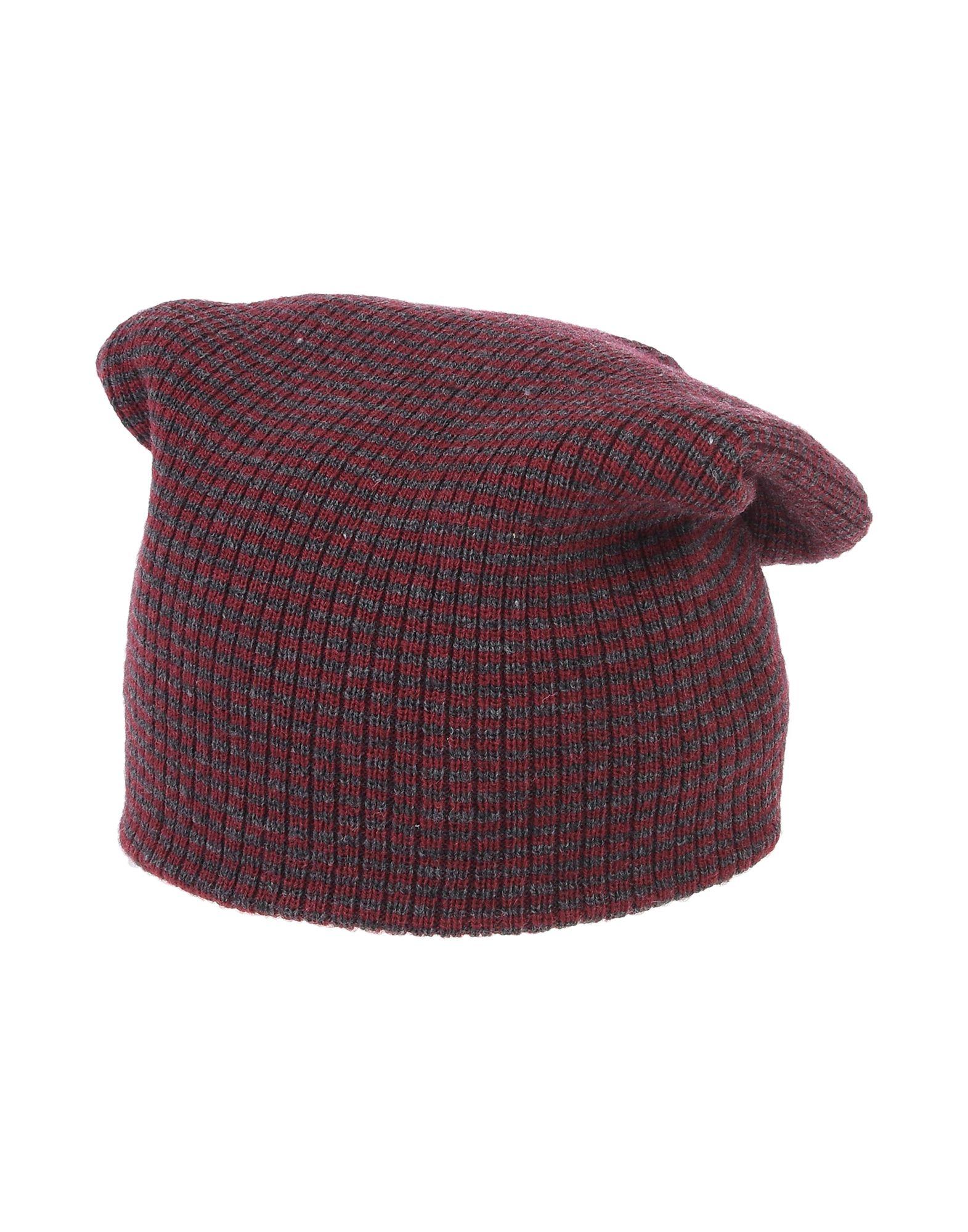 《送料無料》SARTORIA LEONI レディース 帽子 レッド one size アクリル 100%