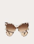 OVERSIZED BUTTERFLY FRAME ACETATE SUNGLASSES