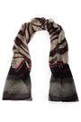 ROBERTO CAVALLI Animal-print silk-chiffon scarf