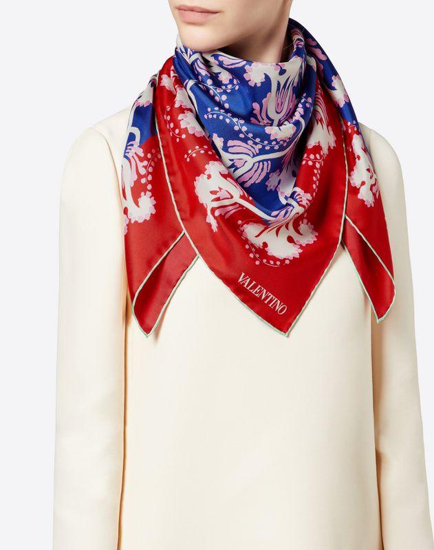 Silk Twill Foulard 90x90 cm