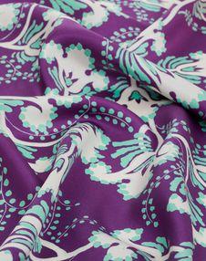 Silk Twill Foulard 35.4x35.4 in.