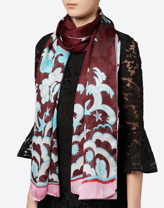 Printed Stole 70x200 cm