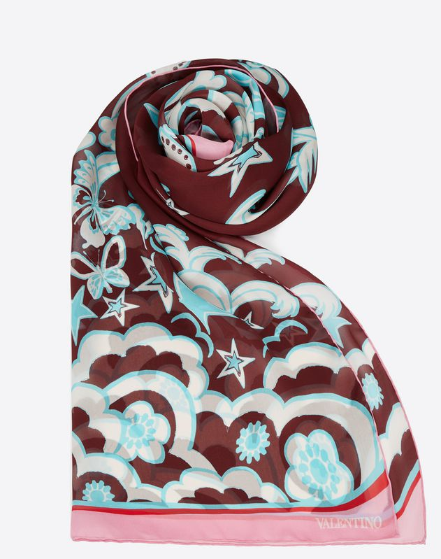 Printed Stole 27.6x78.7 in.