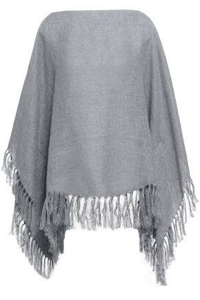 BRUNELLO CUCINELLI Tasseled metallic gauze wrap