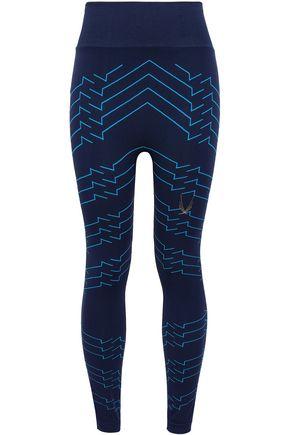 LUCAS HUGH Printed stretch leggings