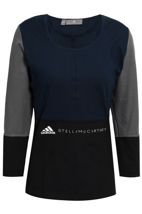 ADIDAS by STELLA McCARTNEY Color-block stretch top