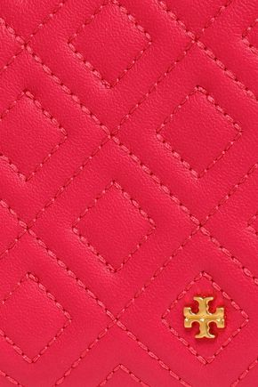 TORY BURCH Quilted leather wallet
