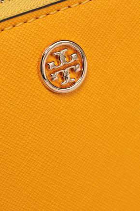 TORY BURCH Textured-leather wallet