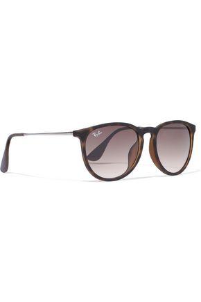 RAY-BAN Erika D-frame tortoiseshell acetate sunglasses
