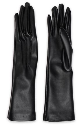 STELLA McCARTNEY Faux leather gloves