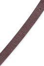 BRUNELLO CUCINELLI Metallic textured-leather belt
