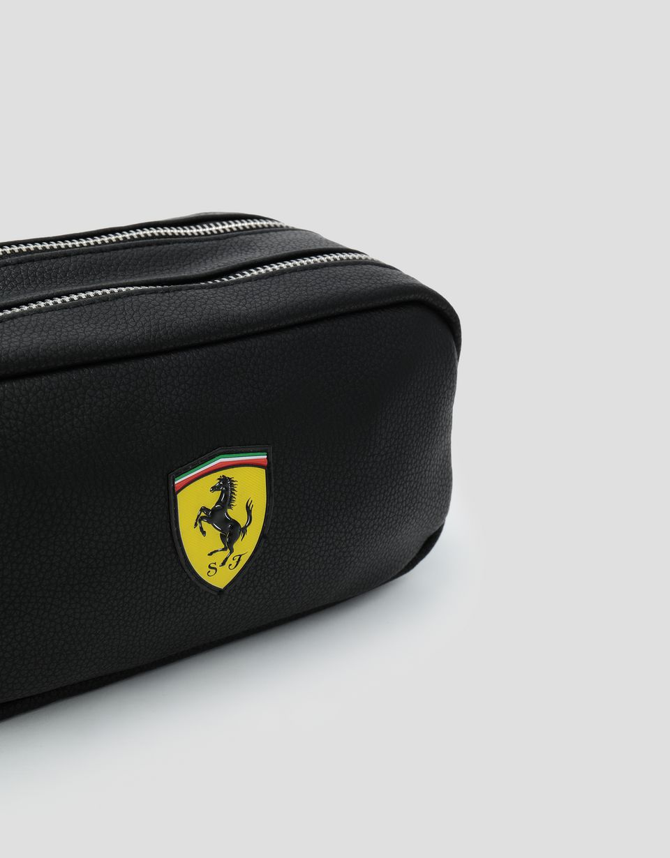 Scuderia Ferrari Online Store - Scuderia Ferrari black accessory case - Pencil Cases