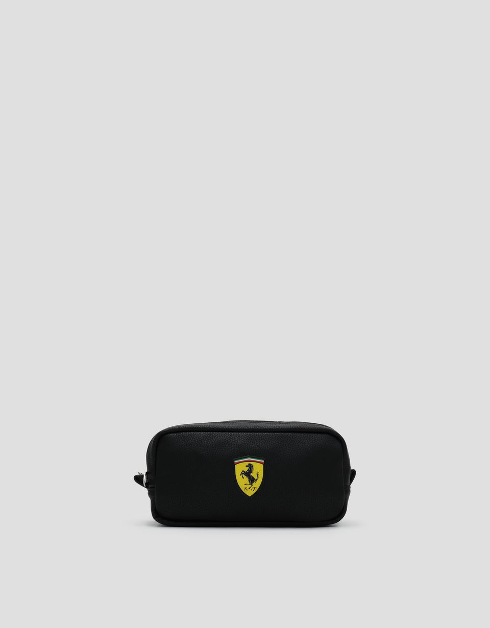 Scuderia Ferrari Online Store - Black Scuderia Ferrari accessory case - Pencil Cases
