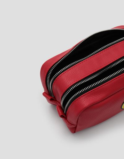 Scuderia Ferrari Online Store - Red Scuderia Ferrari accessory case - Pencil Cases