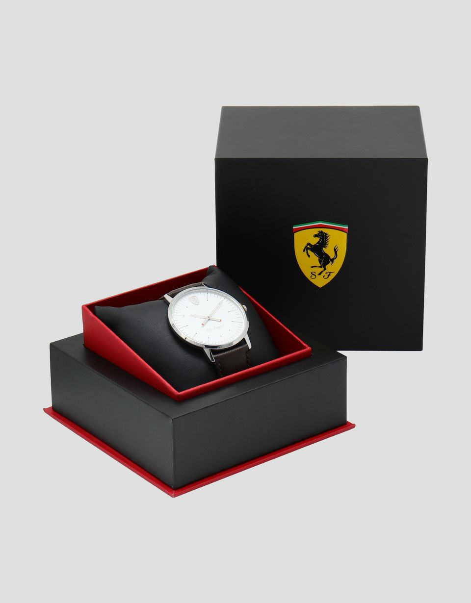 Scuderia Ferrari Online Store - Ultraleggero watch with white dial -