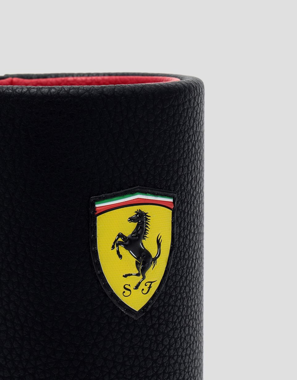 Scuderia Ferrari Online Store - Scuderia Ferrari black pen holder - Pencil Cases
