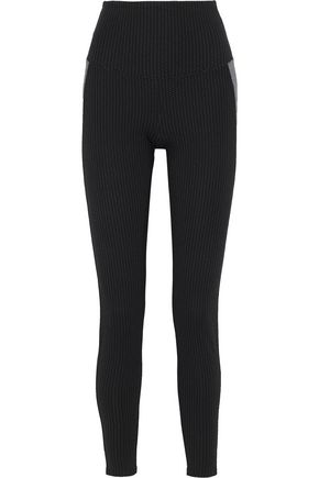 YUMMIE by HEATHER THOMSON Signature jacquard-knit leggings