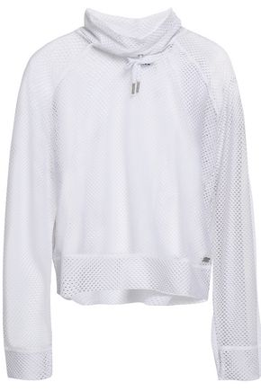 DKNY Stretch-mesh top