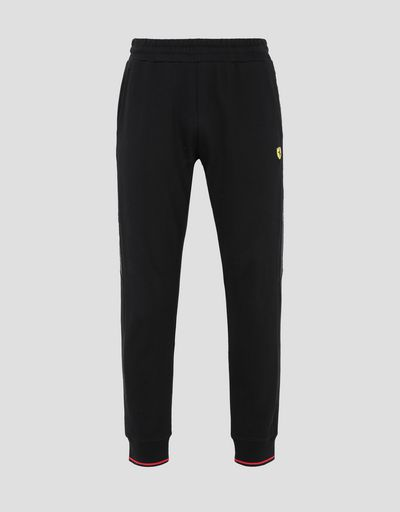 Scuderia Ferrari Online Store - Men's joggers with Icon Tape - Joggers