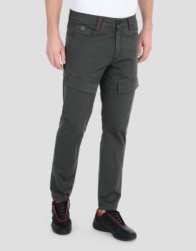 Men's chinos with seven pockets