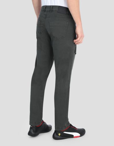 Men's seven-pocket chinos