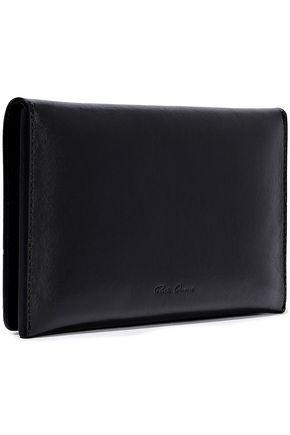 RICK OWENS Embossed leather wallet