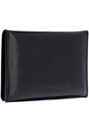 RICK OWENS Embossed leather wallet