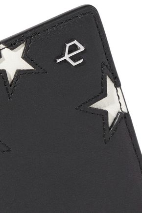 RAG & BONE Laser-cut leather cardholder
