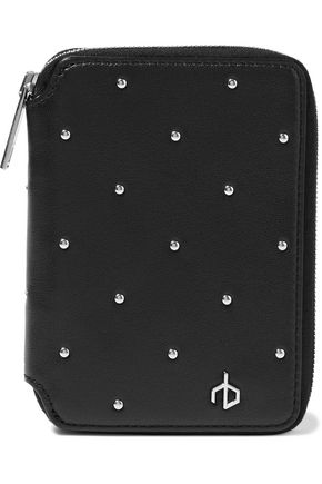RAG & BONE Studded leather wallet