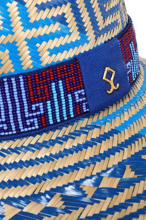 YOSUZI Elise embellished straw sunhat