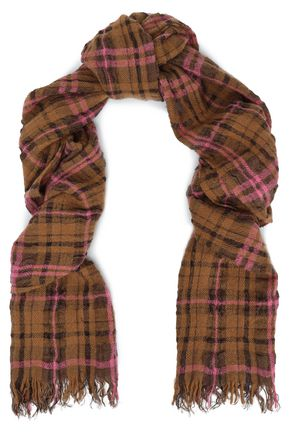 ACNE STUDIOS Tartan twill scarf