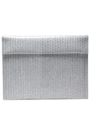 MM6 MAISON MARGIELA Printed faux leather clutch