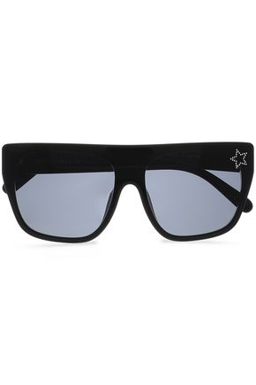 STELLA McCARTNEY D-frame acetate sunglasses
