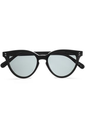 STELLA McCARTNEY Cat-eye acetate sunglasses