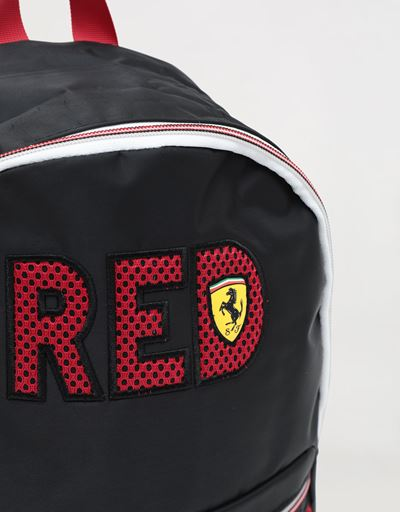 Scuderia Ferrari Online Store - Child's backpack with RED wording -