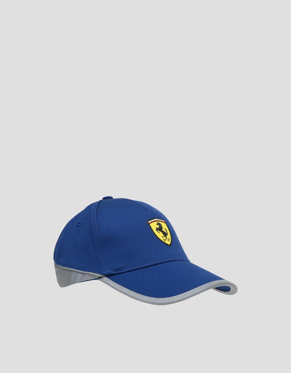 Scuderia Ferrari Online Store - Men's cap with reflective inserts - Baseball Caps