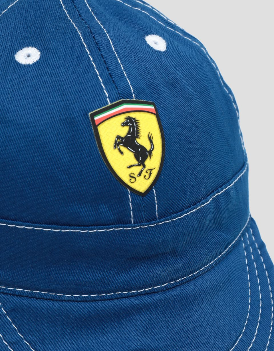 Scuderia Ferrari Online Store - Scuderia Ferrari cotton cap for children - Baseball Caps