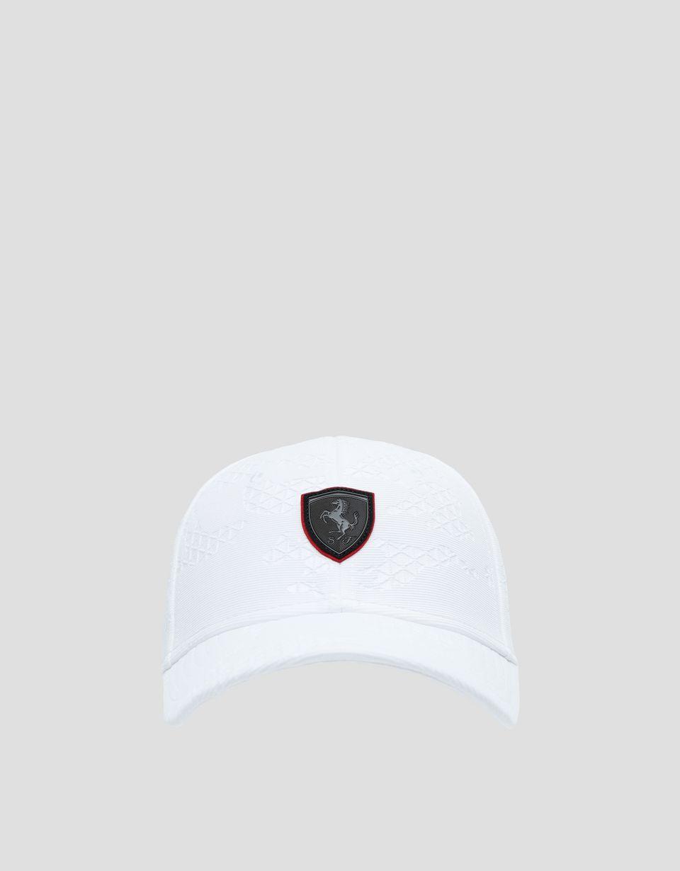 Scuderia Ferrari Online Store - Мужская бейсболка с камуфляжным принтом в гоночном стиле - Бейсболки