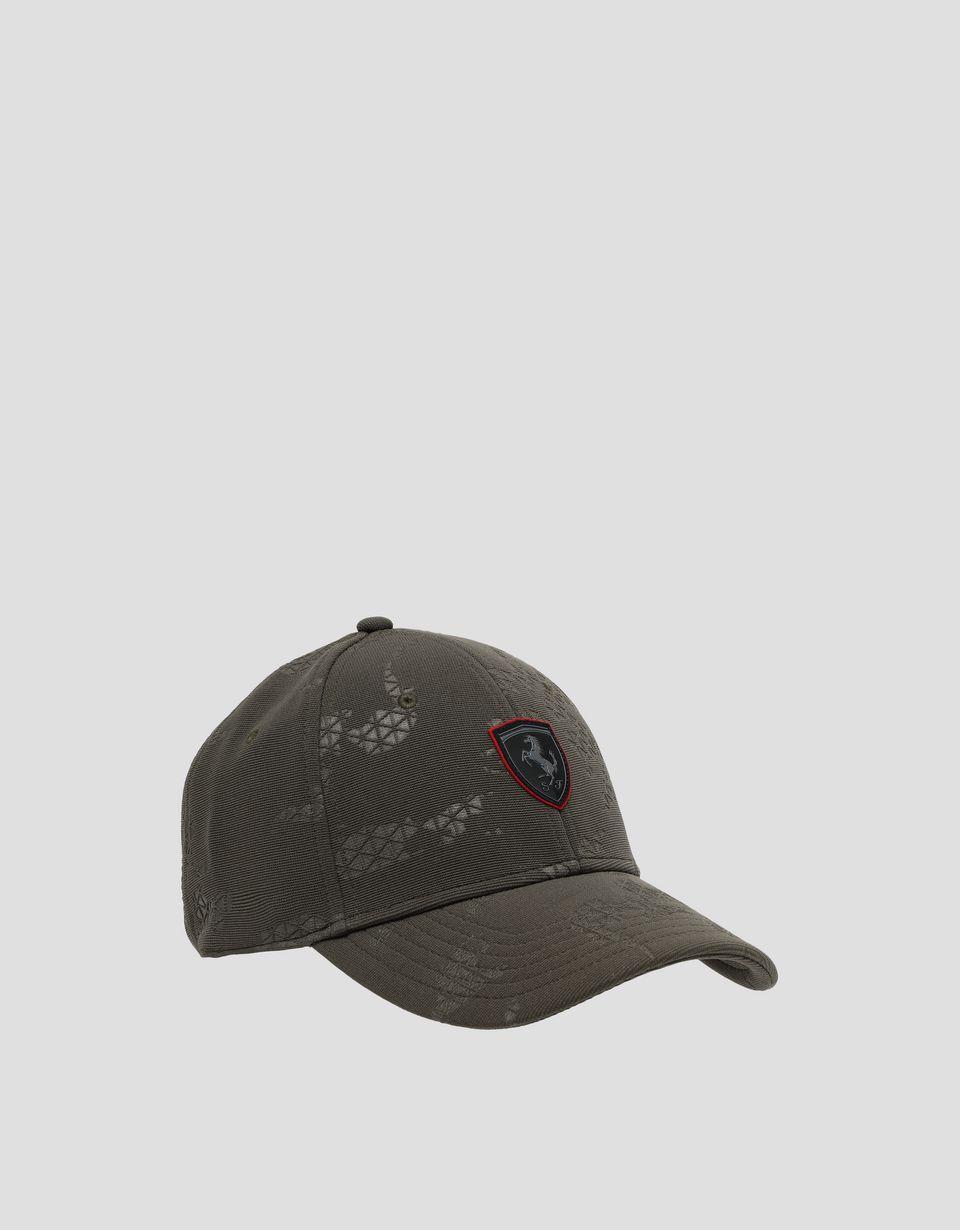 Scuderia Ferrari Online Store - Men's camouflage racing cap - Baseball Caps