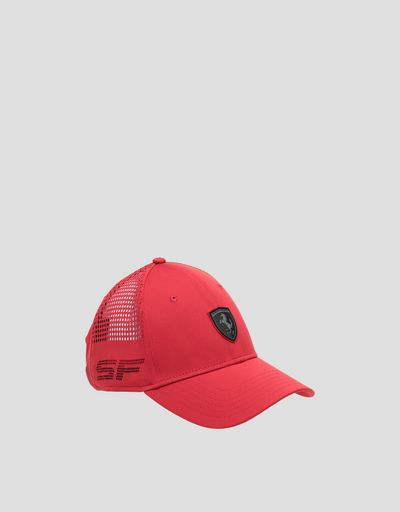 Scuderia Ferrari men's hat with perforated pattern