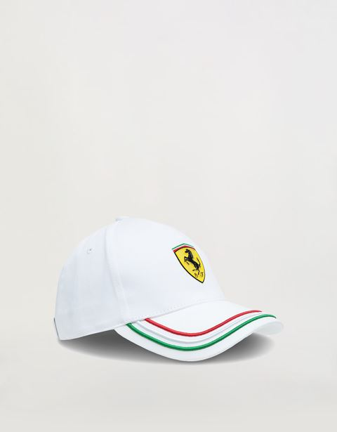 Kids tricolour baseball cap