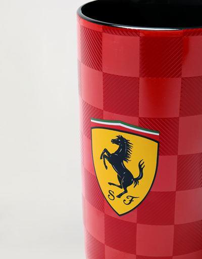 Scuderia Ferrari Online Store - Tazza alta Scuderia Ferrari con stampa scacchi -