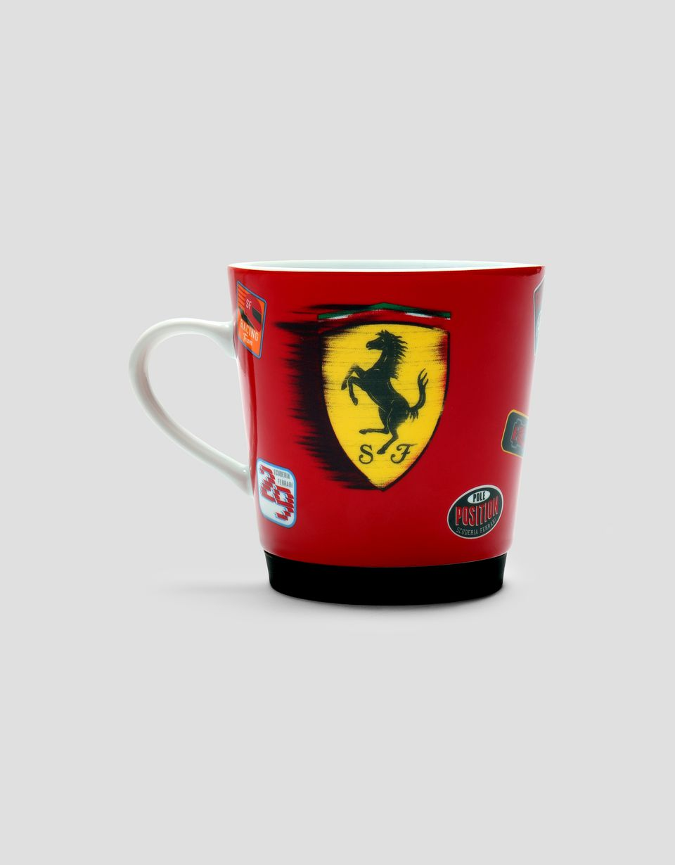 Scuderia Ferrari Online Store - Children's porcelain mug with Ferrari Shield - Mugs & Cups
