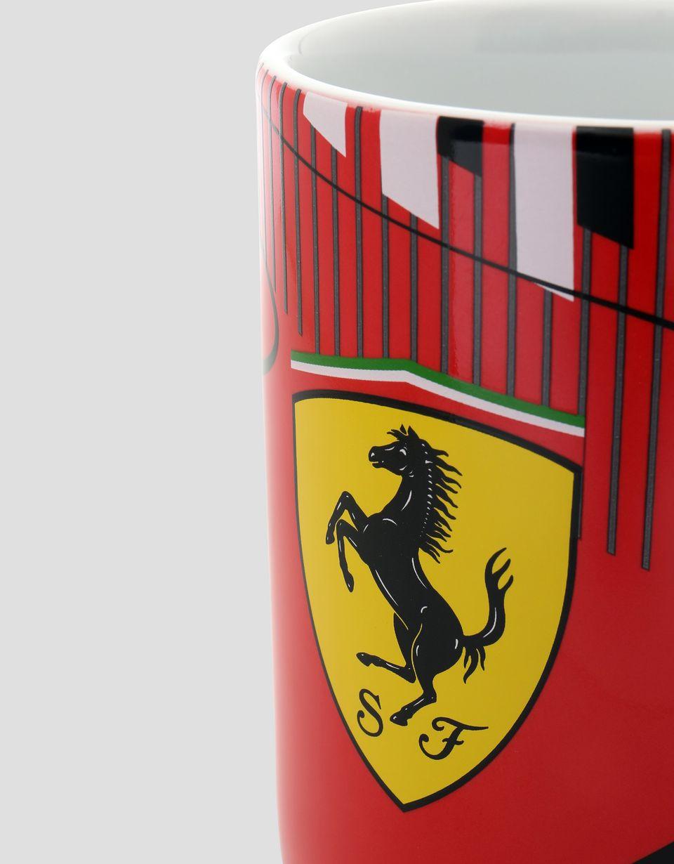 Scuderia Ferrari Online Store - Race Track Scuderia Ferrari ceramic mug - Mugs & Cups