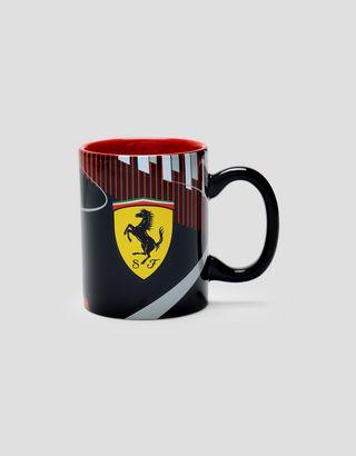 Scuderia Ferrari Online Store - Scuderia Ferrari Keramiktasse Race Track - Tassen & Becher