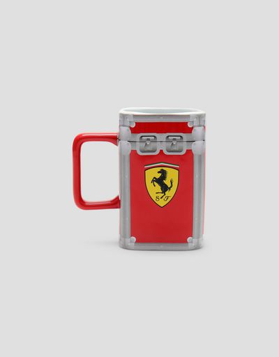 Scuderia Ferrari flight case ceramic mug