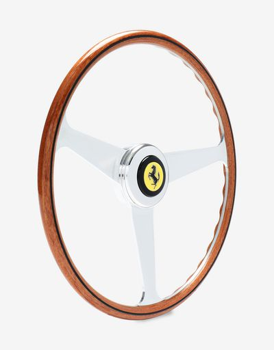 1:1 scale model of vintage Ferrari steering wheel
