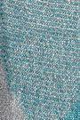 MISSONI Metallic checked crochet-knit scarf